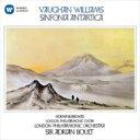 Symphony - Vaughan-williams ボーンウィリアムズ / 南極交響曲 エードリアン・ボールト & ロンドン・フィル、ノーマ・バロウズ 【CD】