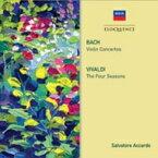 Bach, Johann Sebastian バッハ / バッハ: ヴァイオリン協奏曲集、ヴィヴァルディ: 『四季』 サルヴァトーレ・アッカルド、ヨーロッパ室内管弦楽団、イ・ソリスティ・ディ・ナポリ(2CD) 輸入盤 【CD】