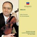 Sibelius シベリウス / ヴァイオリン協奏曲、ユモレスク サルヴァトーレ・アッカルド、コリン・デイヴィス & ロンドン交響楽団 輸入盤 【CD】