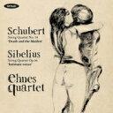 Composer: Sa Line - 【送料無料】 Schubert シューベルト / シューベルト: 弦楽四重奏曲第14番『死と乙女』、シベリウス: 弦楽四重奏曲『親愛なる声』 エーネス・クヮルテット 輸入盤 【CD】