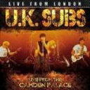 Artist Name: U - 【送料無料】 Uk Subs / Live From London 輸入盤 【CD】
