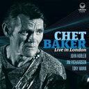 【送料無料】 Chet Baker チェットベイカー / Live In London 輸入盤 【CD】