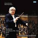 【送料無料】 Beethoven ベートーヴェン / ベートーヴェン: 交響曲第5番、第6番、バッハ: G線上のアリア、他 ヘルベルト・ケーゲル & ドレスデン・フィル(1989年東京ライヴ)(3LP)(180グラム重量盤) 【LP】