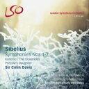【送料無料】 Sibelius シベリウス / 交響曲全集、クレルヴォ交響曲 コリン・デイヴィス & ロンドン交響楽団(2002-2008)(+5SACD) 【BLU-RAY AUDIO】