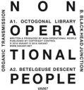 楽天ローチケHMV 1号店Non Operational People / Organic Transmission 【12in】