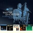 Artist Name: W - 【送料無料】 Wayne Shorter ウェインショーター / 5 Original Albums (5CD) 輸入盤 【CD】