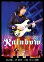 【送料無料】 Ritchie Blackmore's Rainbow / Memories In Rock 〜Live At Monsters Of Rock ...