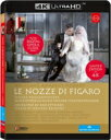Mozart モーツァルト / 『フィガロの結婚』全曲 ベヒトルフ演出、エッティンガー & ウィーン・フィル、プラチェツカ、ヤンコヴァ、他(2015 ステレオ)(日本語字幕付)(4K ULTRA HD) 【BLU-RAY DISC】