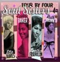 Artist Name: E - Etta James / Aretha Franklin / Lavern Baker / Ruth Brown / Four By Four: Soul Sisters 輸入盤 【CD】