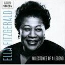 艺人名: E - 【送料無料】 Ella Fitzgerald エラフィッツジェラルド / Milestones Of A Legend (10CD) 輸入盤 【CD】