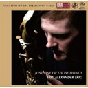 藝人名: E - 【送料無料】 Eric Alexander エリックアレキサンダー / Just One Of Those Things (SACD) 【SACD】