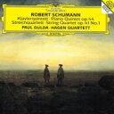 作曲家名: Sa行 - Schumann シューマン / ピアノ五重奏曲、弦楽四重奏曲第1番 パウル・グルダ、ハーゲン四重奏団 【SHM-CD】