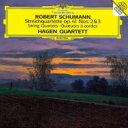 Composer: Sa Line - Schumann シューマン / 弦楽四重奏曲第2番、第3番 ハーゲン四重奏団 【SHM-CD】