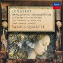 作曲家名: Sa行 - Schubert シューベルト / 弦楽四重奏曲第14番『死と乙女』、第13番『ロザムンデ』 タカーチ四重奏団(1992) 【SHM-CD】