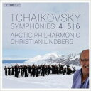 Composer: Ta Line - 【送料無料】 Tchaikovsky チャイコフスキー / 交響曲第6番『悲愴』、第5番、第4番 クリスティアン・リンドベルイ & アークティック・フィル(2SACD) 輸入盤 【SACD】