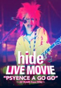 "hide (X JAPAN) ヒデ / LIVE MOVIE ""PSYENCE A GO GO""〜20YEARS from 1996〜 (DVD) 【DVD】"