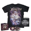 Artist Name: X - 【送料無料】 Xandria キサンドリア / Theater Of Dimensions: T-shirt + Mediabook Bundle (2cd+t-shirt)(M Size) 輸入盤 【CD】