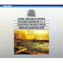 【送料無料】 Handel ヘンデル / 合奏協奏曲 作品3全曲、作品6全曲 ニコラウス・アーノンクール & ウィーン・コンツェントゥス・ムジクス(4CD) 【CD】