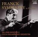 作曲家名: Ha行 - Franck フランク / 交響曲 バルビローリ&チェコ・フィル 【CD】