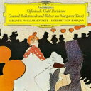 Composer: A Line - Offenbach オッフェンバック / オッフェンバック: 『パリの喜び』抜粋、グノー: 『ファウスト』からのバレエ音楽 ヘルベルト・フォン・カラヤン & ベルリン・フィル 【Hi Quality CD】