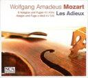 Composer: Ma Line - 【送料無料】 Mozart モーツァルト / バッハの作品による6つのプレリュードとフーガ、アダージョとフーガ レザデュー(日本語解説付) 【CD】