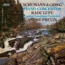 Grieg/Schumann グリーグ/シューマン / グリーグ: ピアノ協奏曲、シューマン: ピアノ協奏曲 ラドゥ・ルプー、アンドレ・プレヴィン &a..