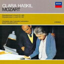Mozart モーツァルト / ピアノ協奏曲第20番、第24番 クララ・ハスキル、イーゴリ・マルケヴィチ & ラムルー管弦楽団 【SHM-CD】