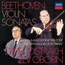 作曲家名: Ha行 - Beethoven ベートーヴェン / ヴァイオリン・ソナタ第5番『春』、第9番『クロイツェル』 ダヴィド・オイストラフ、レフ・オボーリン 【SHM-CD】