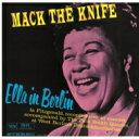 Artist Name: E - Ella Fitzgerald エラフィッツジェラルド / Ella In Berlin: Mack The Knife (Uhqcd) 【Hi Quality CD】