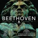 作曲家名: Ha行 - 【送料無料】 Beethoven ベートーヴェン / 交響曲第5番『運命』、第7番 マンフレート・ホーネック & ピッツバーグ交響楽団(日本語解説付) 【SACD】