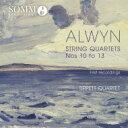 Composer: A Line - オルウィン、ウィリアム(1905-1985) / String Quartet, 10, 11, 12, 13, : Tippett Q 輸入盤 【CD】