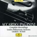 【送料無料】 Paganini パガニーニ / ヴァイオリン協奏曲全集、奇想曲、他 アッカルド(vn)デュトワ&LPO(6CD) 輸入盤 【CD】