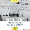 作曲家名: Sa行 - 【送料無料】 Schubert シューベルト / ピアノ・ソナタ全集 ケンプ(p)(7CD)  輸入盤 【CD】