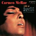 藝人名: C - Carmen Mcrae カーメンマクレエ / Live At Sugar Hill 【CD】