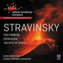 【送料無料】 Stravinsky ストラビンスキー / 春の祭典、火の鳥、ペトルーシュカ デイヴィッド・ロバートソン&シドニー交響楽団(2CD) 輸入盤 【CD】
