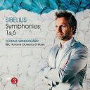 Composer: Sa Line - 【送料無料】 Sibelius シベリウス / 交響曲第1番、第6番 トマス・セナゴー&BBCウェールズ・ナショナル管弦楽団 輸入盤 【CD】