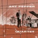 Art Pepper アートペッパー / Art Pepper Quartet (モノラル / クリア・ヴァイナル仕様 / 180グラム重量盤レコード) 【LP】