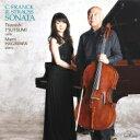 【送料無料】 Franck フランク / (Cello)violin Sonata: 堤剛(Vc) 萩原麻未(P) +r.strauss: Sonata, 三善晃 【CD】