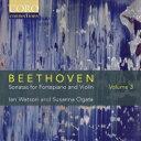 作曲家名: Ha行 - 【送料無料】 Beethoven ベートーヴェン / Violin Sonata, 6, 7, 8, : Susanna Ogata(Vn) Ian Watson(Fp) 輸入盤 【CD】