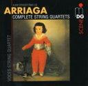 作曲家名: A行 - 【送料無料】 アリアーガ(1806-1826) / String Quartet.1, 2, 3: Voces.sq 輸入盤 【CD】