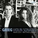 Composer: Ka Line - 【送料無料】 Grieg グリーグ / Violin Sonata, 1, 2, 3, : Maya Levy(Vn) Idmtal(P) 輸入盤 【CD】
