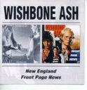 【送料無料】 Wishbone Ash ウィッシュボーンアッシュ / New England / Front Page News 輸入盤 【CD】