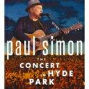 Artist Name: P - 【送料無料】 Paul Simon ポールサイモン / Concert In Hyde Park (2CD+DVD) 【CD】