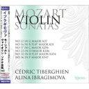 作曲家名: Ma行 - 【送料無料】 Mozart モーツァルト / ヴァイオリン・ソナタ全集第3集 アリーナ・イブラギモヴァ、セドリック・ティベルギアン(2CD)(日本語解説付) 【CD】
