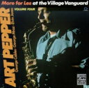 Art Pepper アートペッパー / More For Les Village Vanguard 輸入盤 【CD】