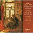 【送料無料】 ワルター、ブルーノ(1876-1962) / ワルター&ゴルトマルク:ヴァイオリンとピアノのための作品集/フィリップ・グラフ..