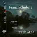 Composer: Sa Line - 【送料無料】 Schubert シューベルト / ピアノ三重奏曲第2番、ノットゥルノ トリオ・アルバ 輸入盤 【SACD】