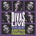 藝人名: A - 【送料無料】 Aretha Franklin アレサフランクリン / Divas Live 輸入盤 【CD】