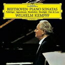 Beethoven ベートーヴェン / ピアノ・ソナタ第8番「悲愴」、第14番「月光」、第23番「熱情」:ヴィルヘルム・ケンプ(ピアノ) (180グラム重量盤レ...