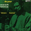 艺人名: Z - Zoot Sims ズートシムズ / Down Home+6 (Uhqcd) 【Hi Quality CD】